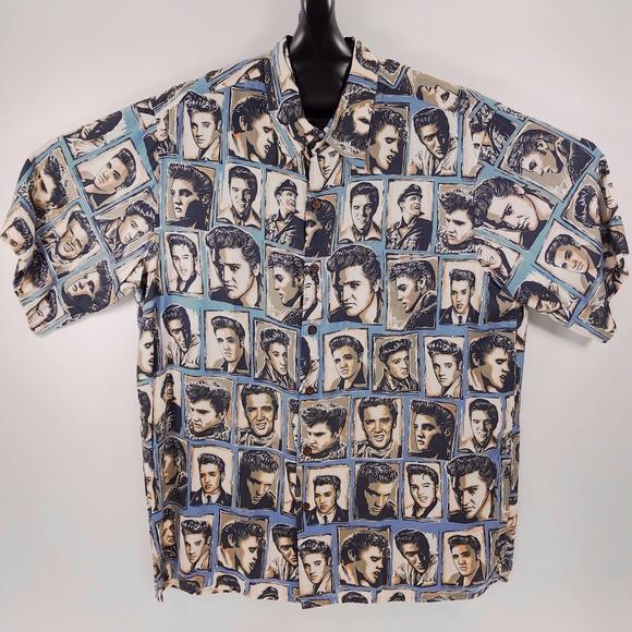 836df881f reyn spooner Shirts | Elvis Presley Hawaiian Shirt Medium | Poshmark